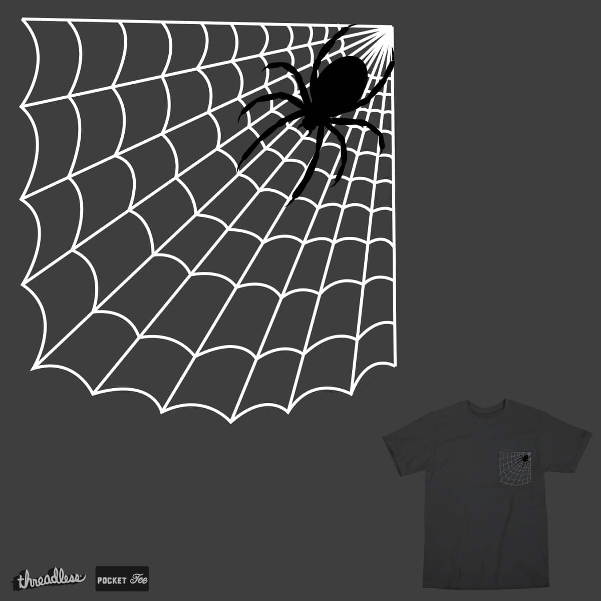 Oh no a Spider!!! by Theo86 on Threadless