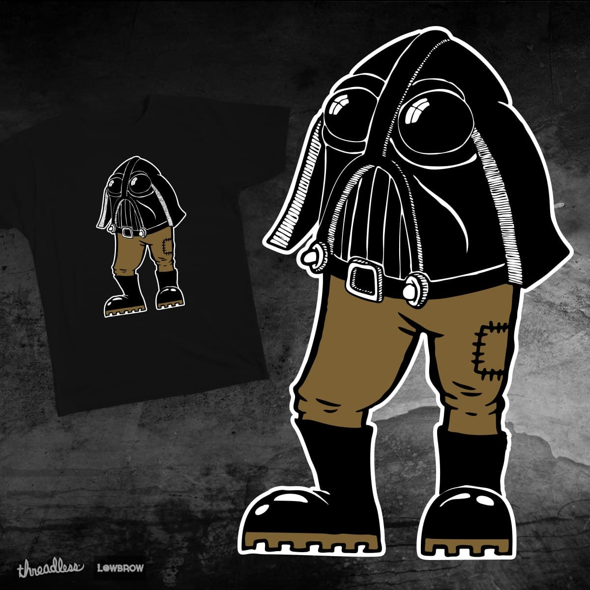 Mr Vader by andyk77 on Threadless