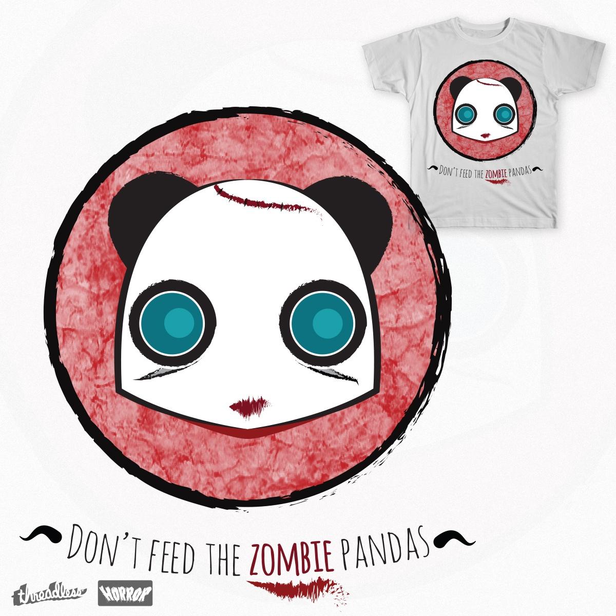Zombie Panda Apocalypse by An.Drew on Threadless
