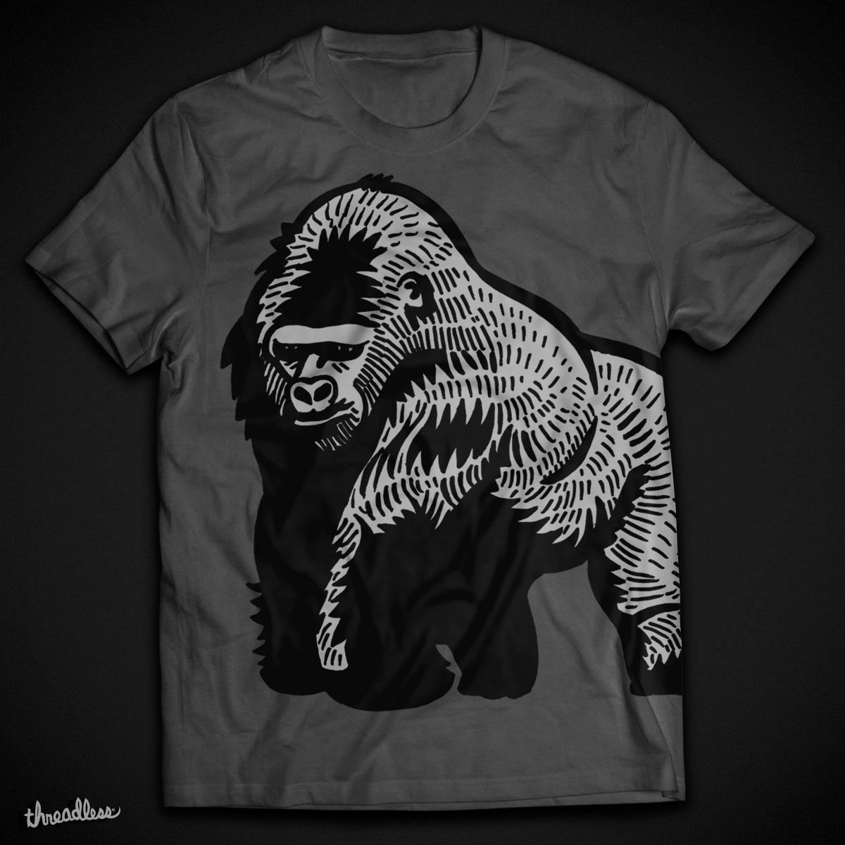 Gorilla by Hipopotam on Threadless