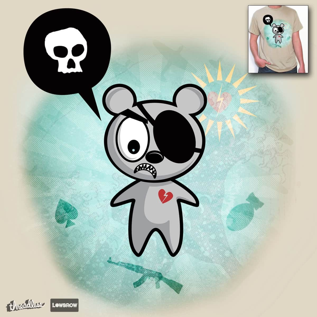 angry bear II by ozf5 on Threadless