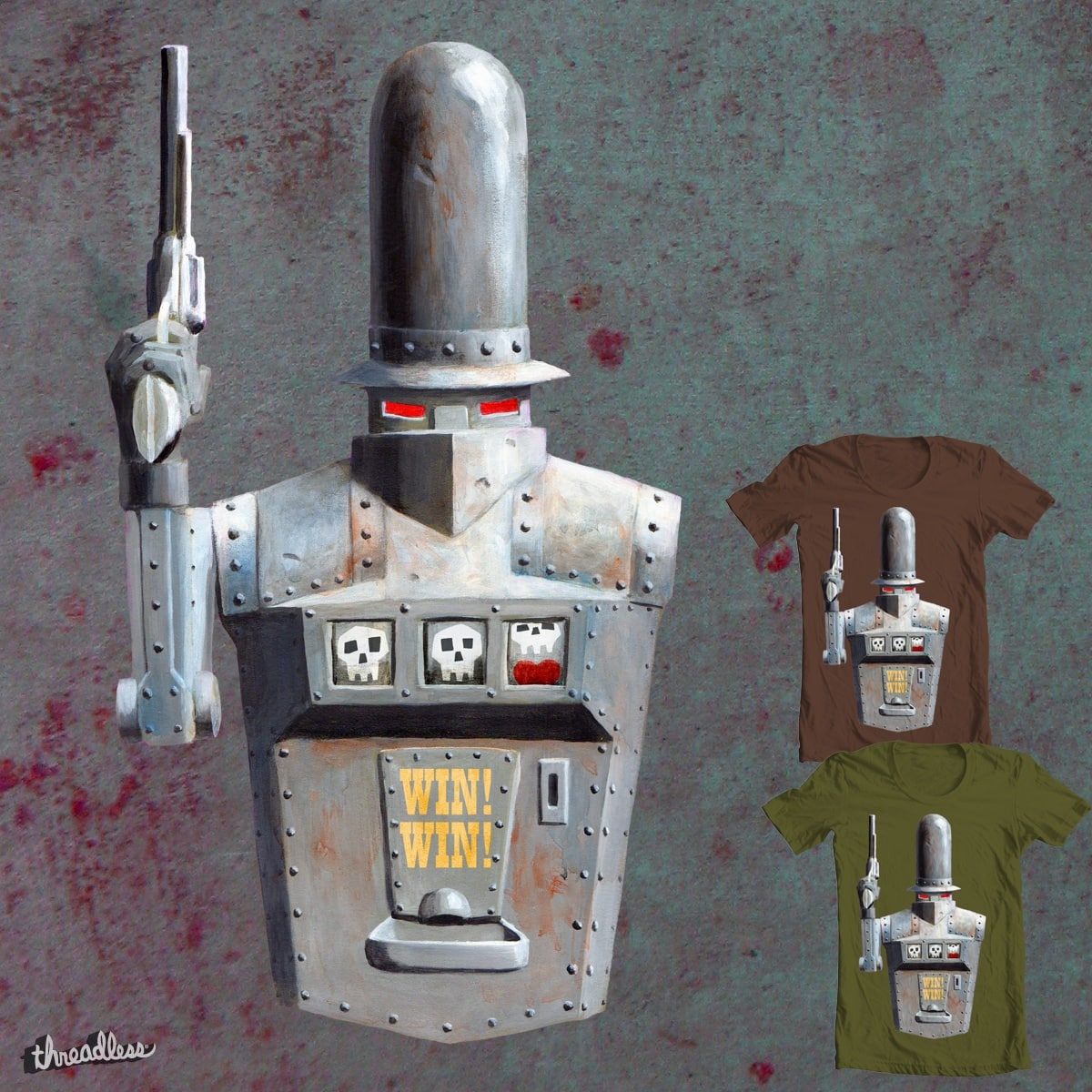 One-armed Bandit by James Ortega on Threadless