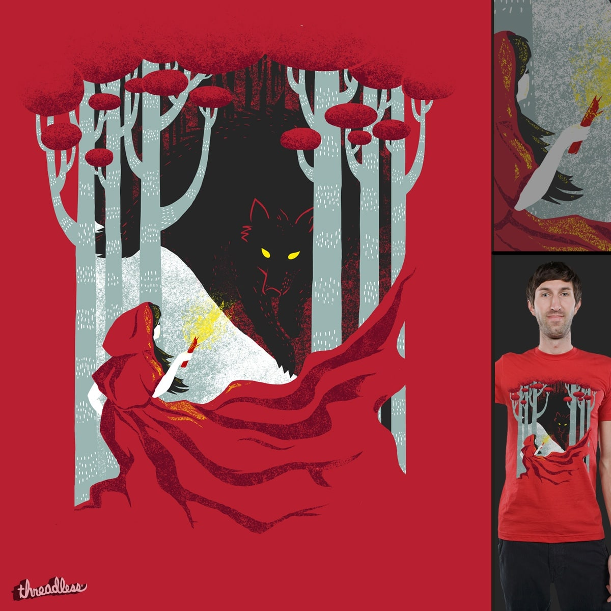 Into the Woods by littleclyde on Threadless