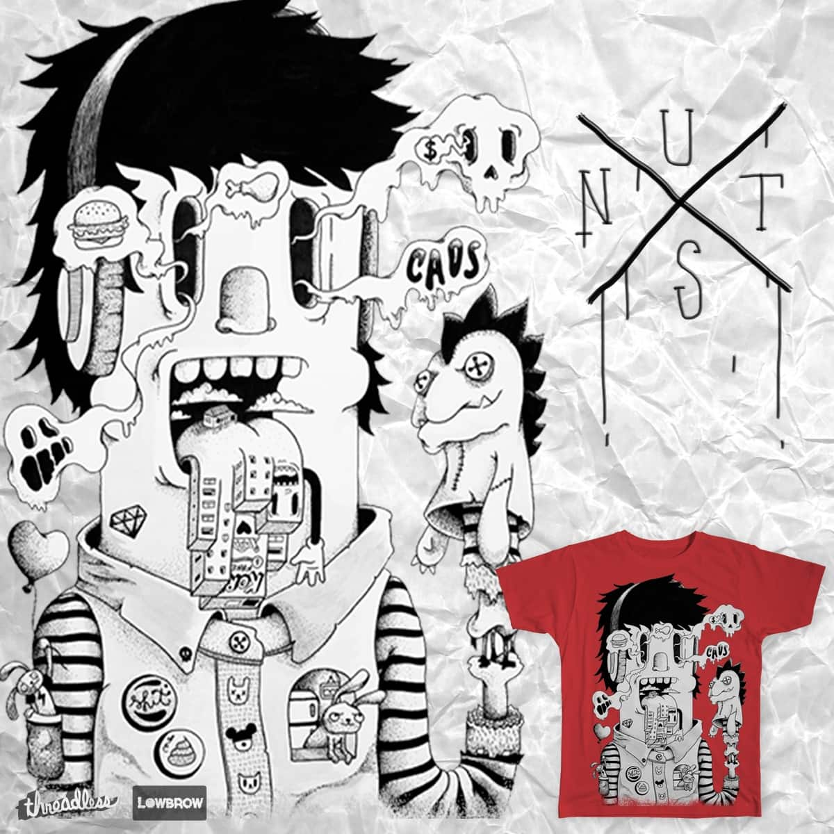 CAOS by p.nutz on Threadless