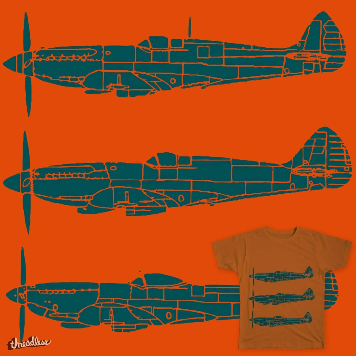 Spitfire by FloraNPaterson on Threadless