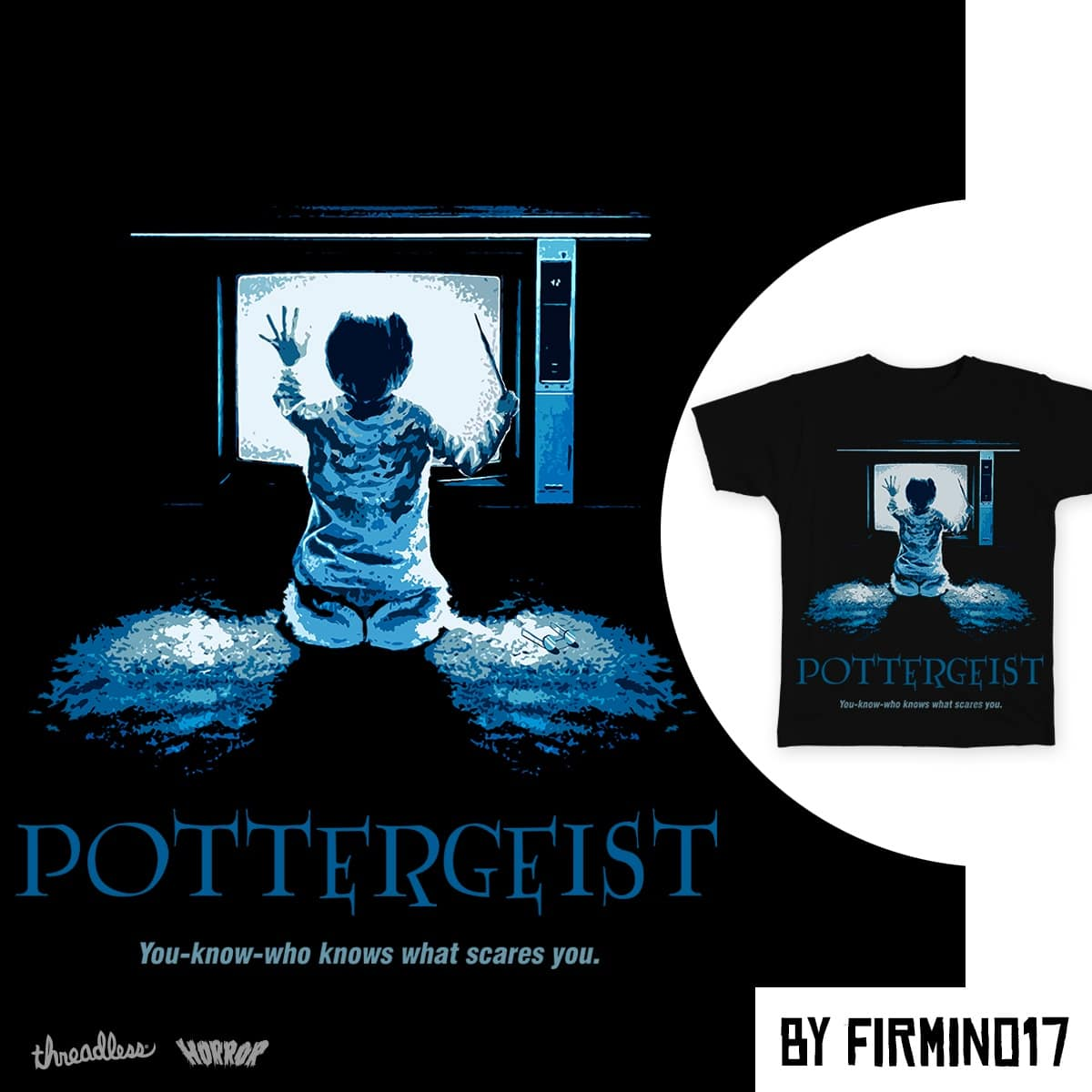Pottergeist by firmino17 on Threadless