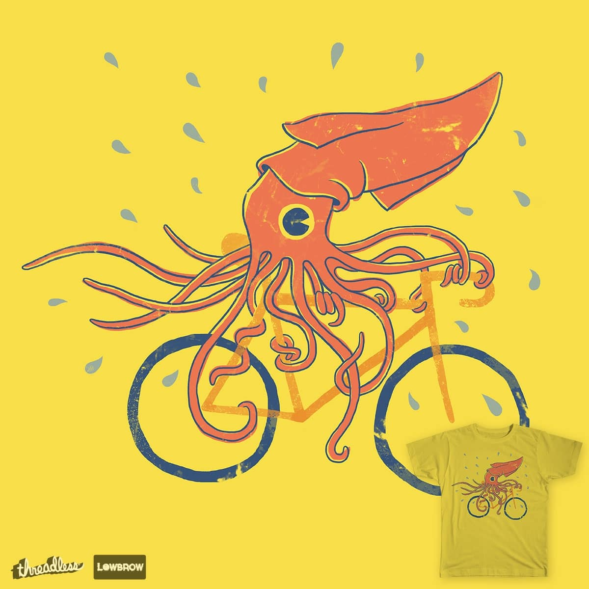 Sid the Squid by P-Rex on Threadless