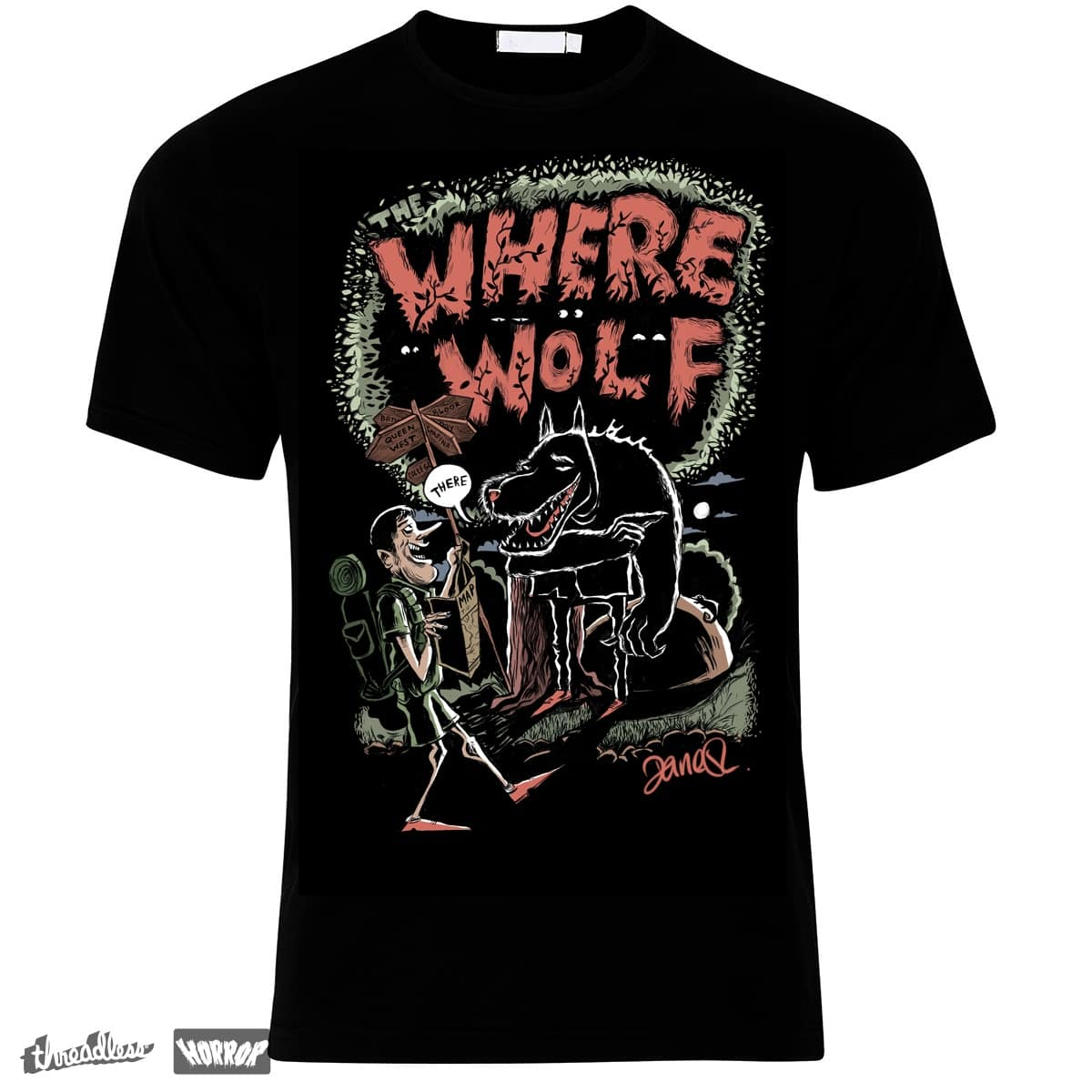 Where wolf by daneshm on Threadless