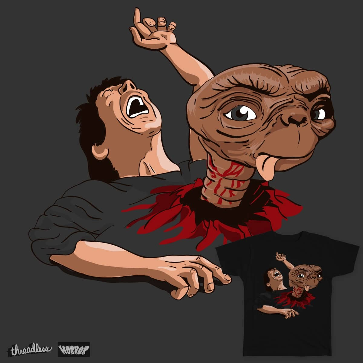 E.T the eight passenger by MolRod on Threadless