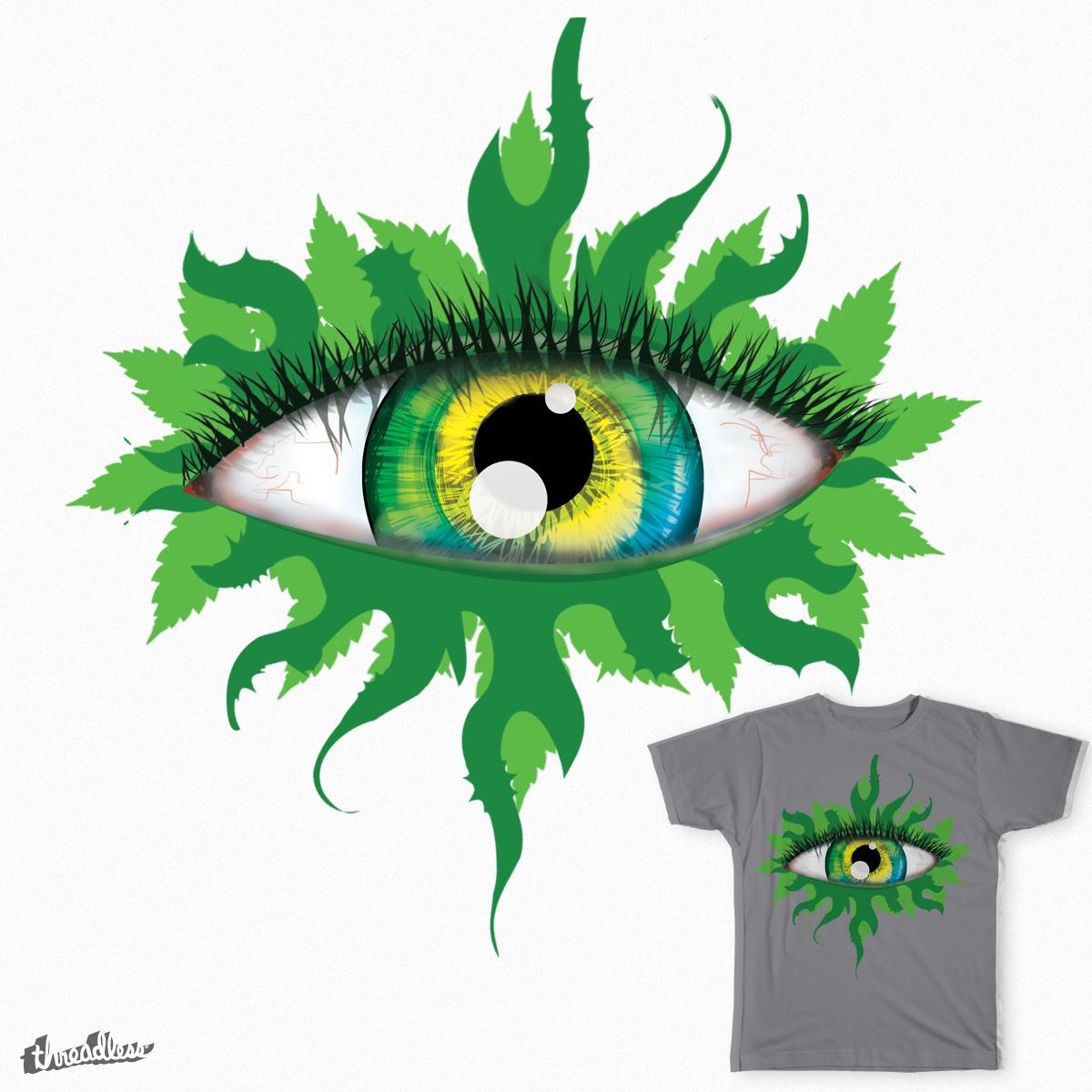 Flower Eye by CrystalStar on Threadless