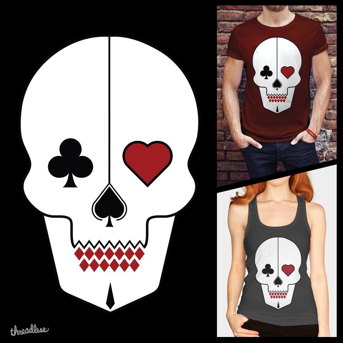 Skull Cards by FranValleArt on Threadless