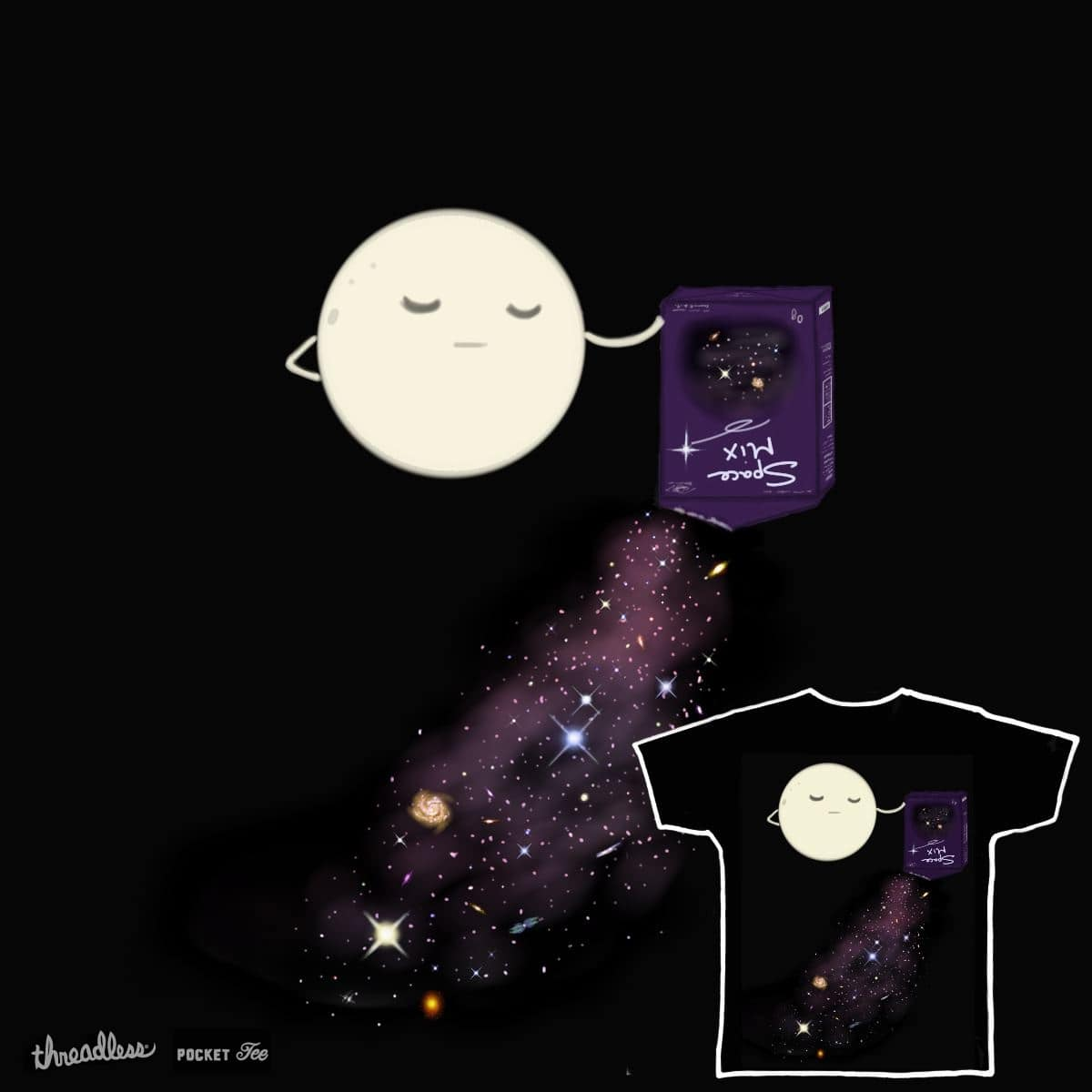 Space Mix by joannafuzzydude on Threadless