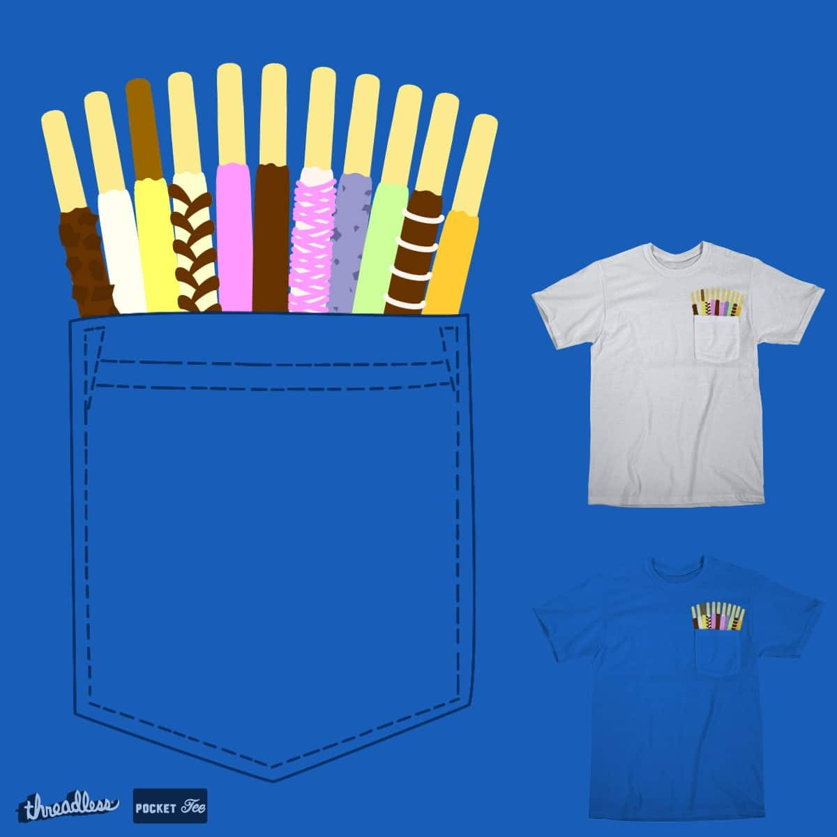 Pocketful of Pocky by Oikiden on Threadless