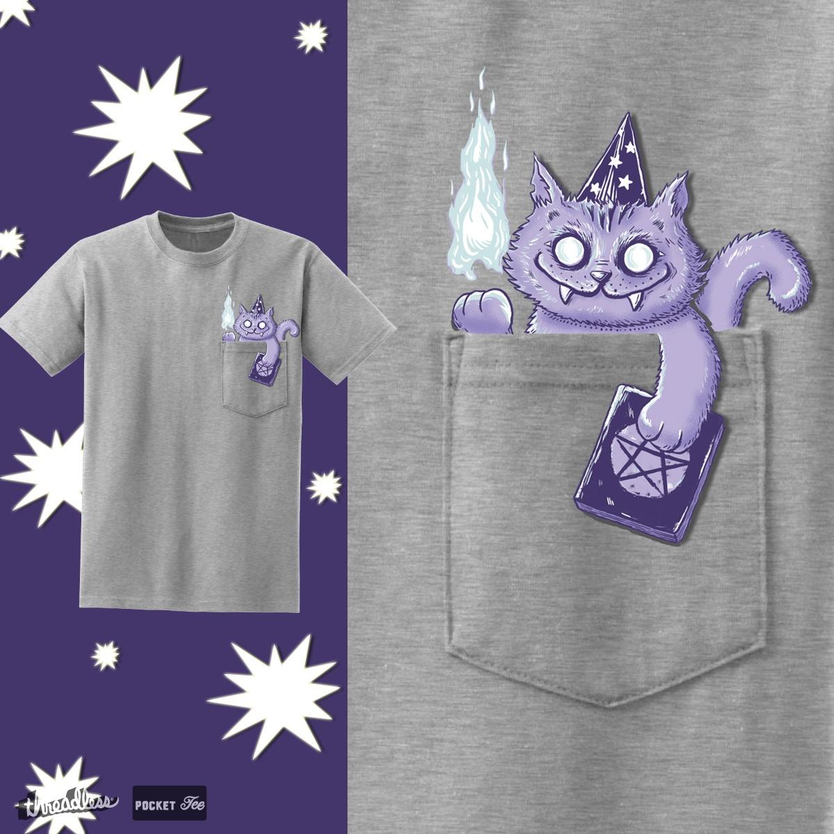 Wizard cat by pijaczaj on Threadless
