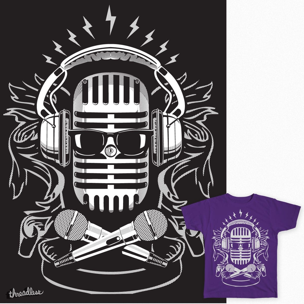 SOUND AND VISION by jonmcgrinder on Threadless