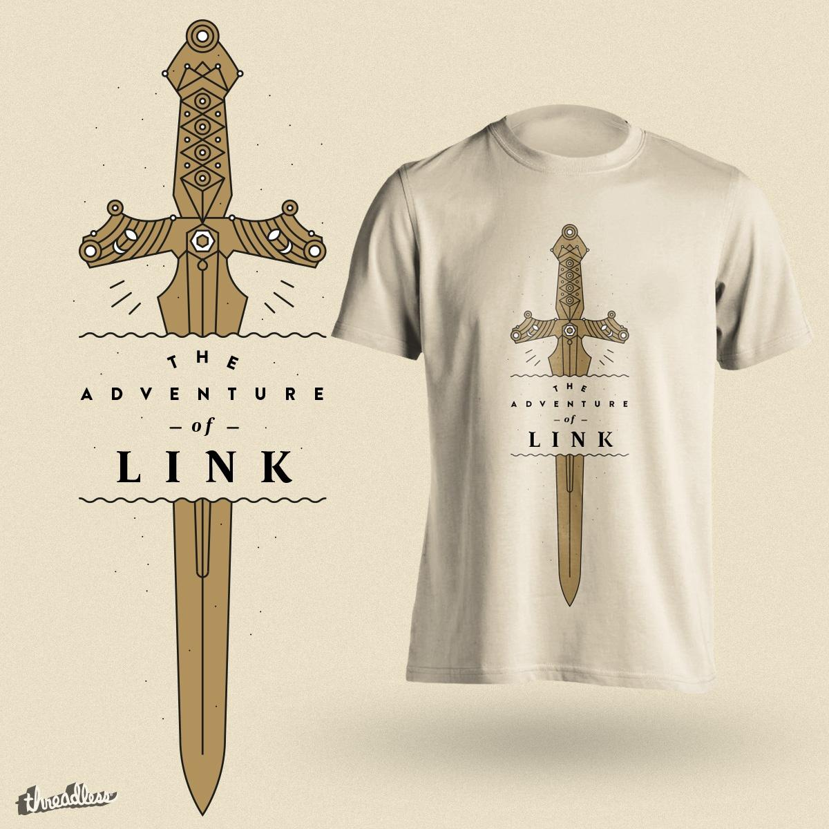 The Adventure of LINK by tugrulpeker on Threadless