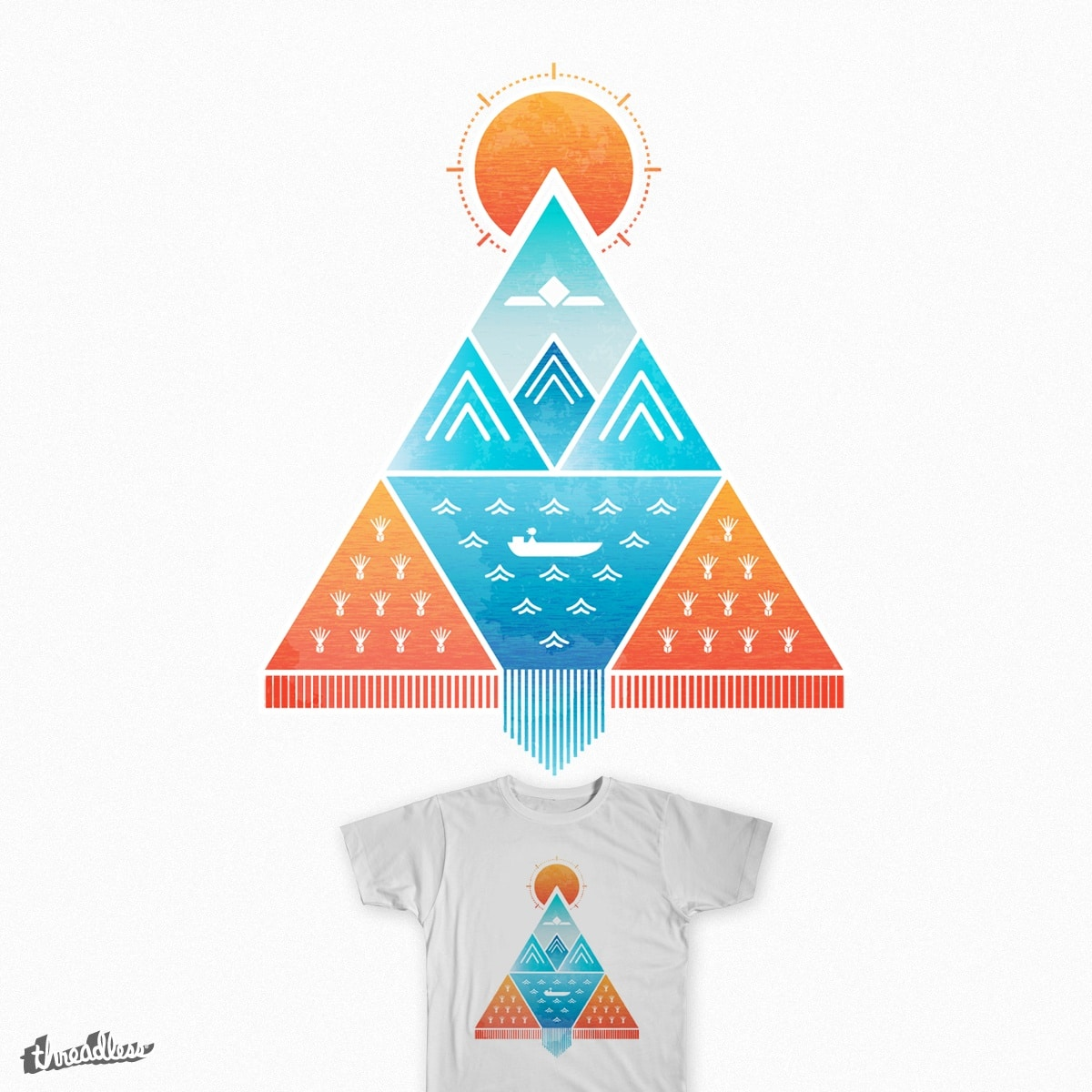 EL GRAN LAGO by janencho on Threadless