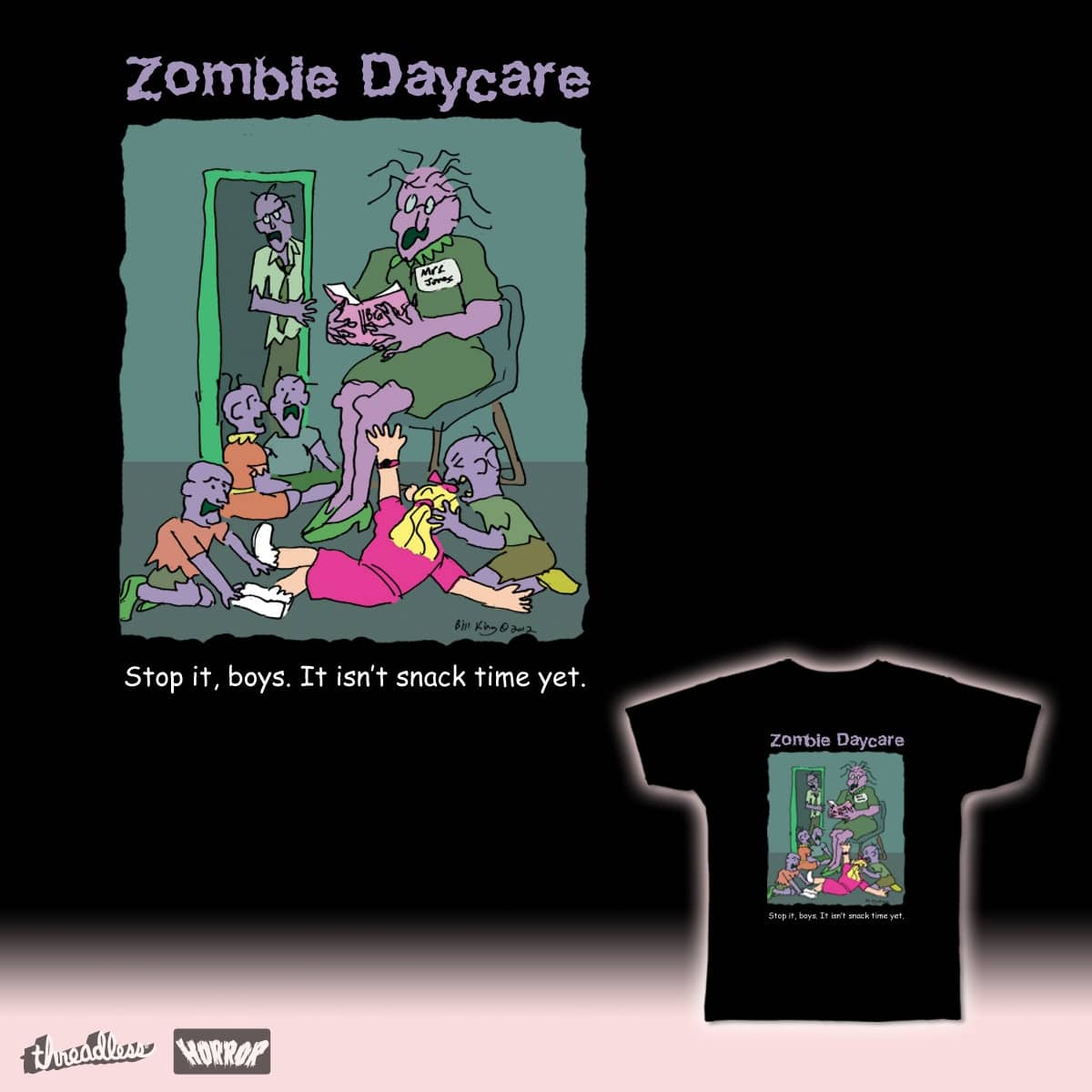Zombie Daycare by Bill-K-Comics on Threadless