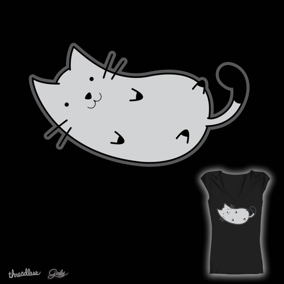 Cuddle Cat by Taylovision on Threadless