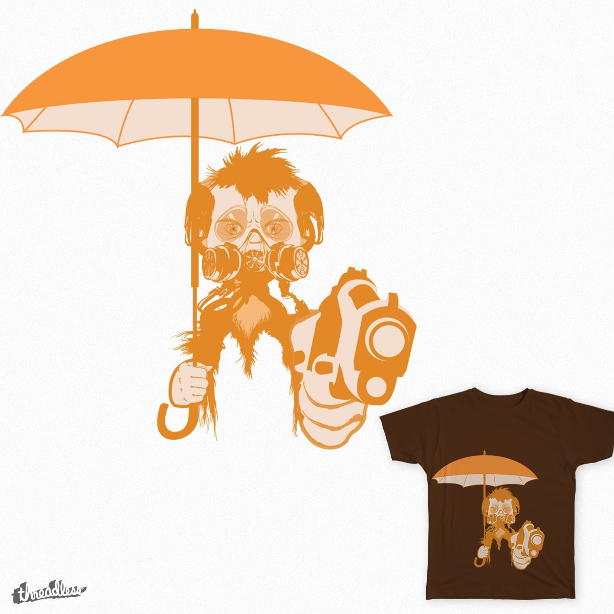 practicing robbery by shamshom on Threadless