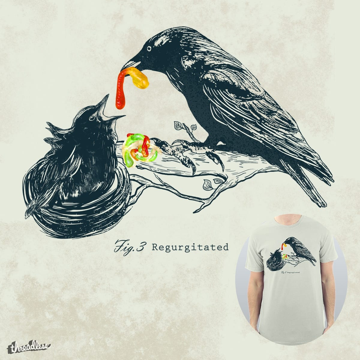 Regurgitation by DalemyMan on Threadless