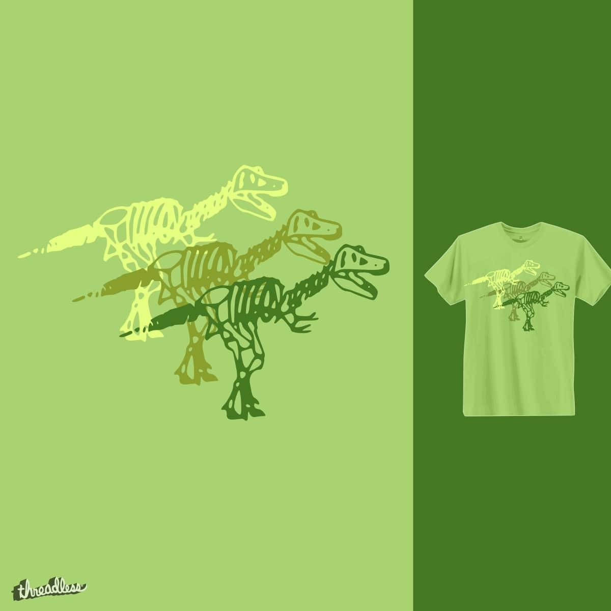 Tee Rex by TRYBYK on Threadless