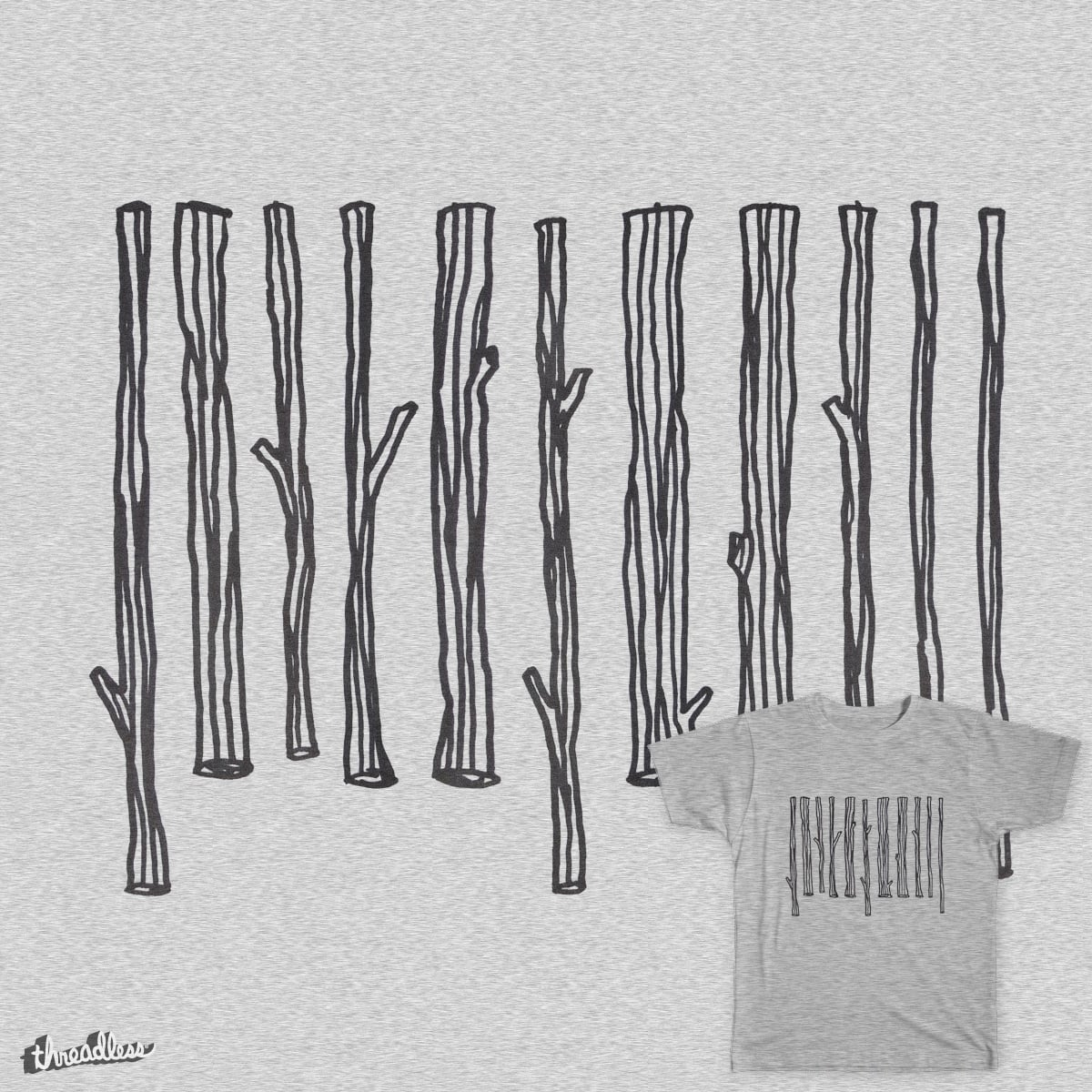 Barkcode by AndreasWikstrom on Threadless