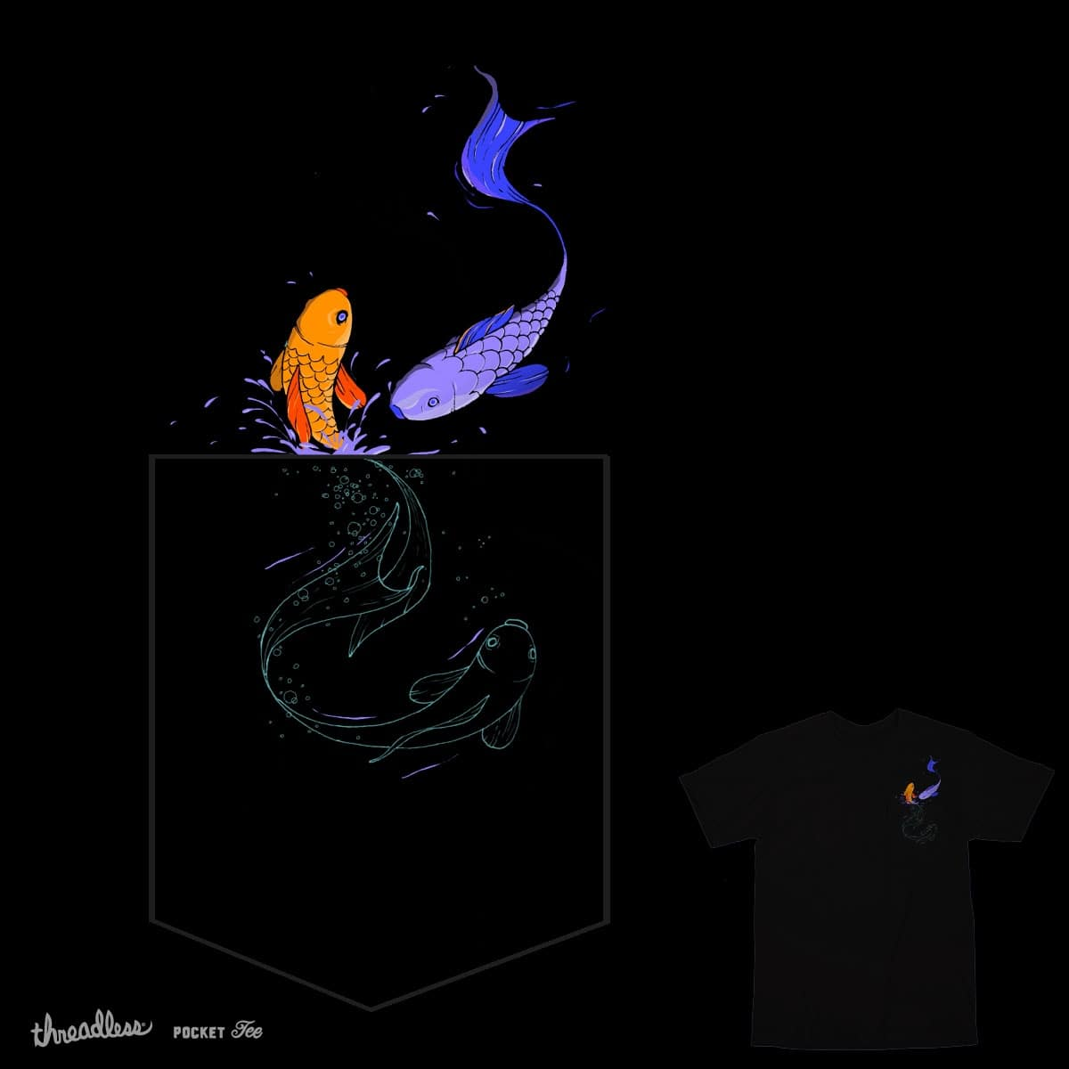 Pocket Fish by Maharashiri on Threadless