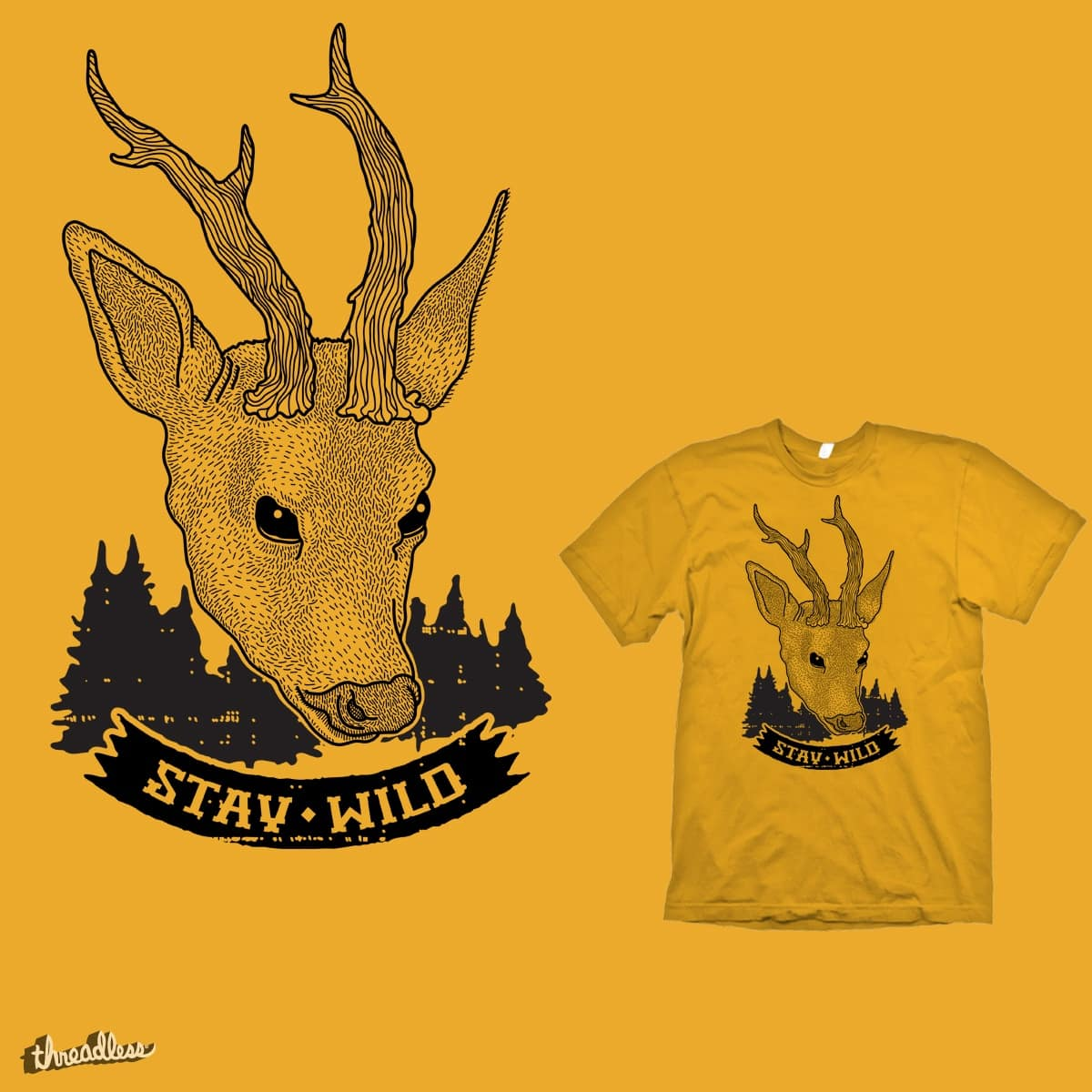 Stay Wild by parallelish on Threadless