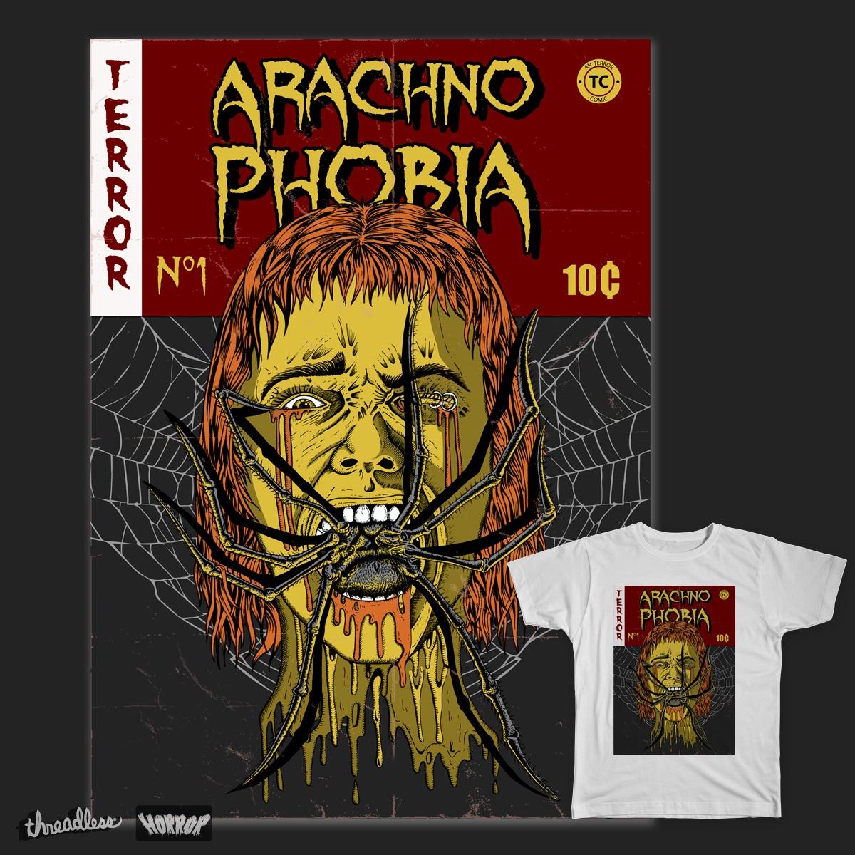 Arachnophobia by MarcioAranha on Threadless