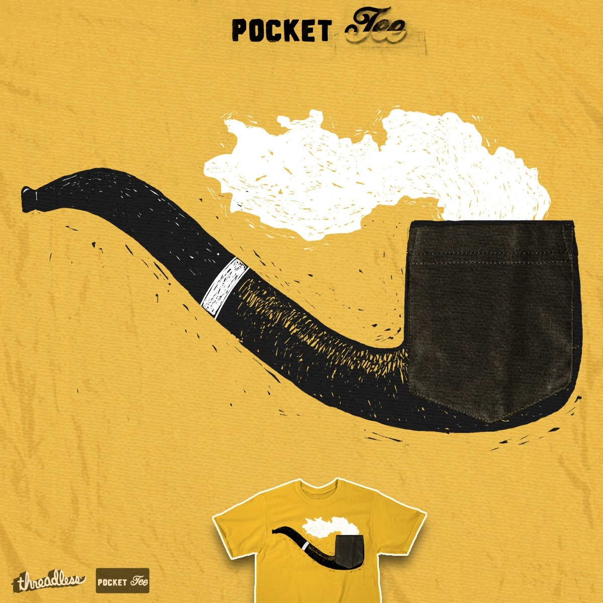 Pocket Pipe by RonanL on Threadless