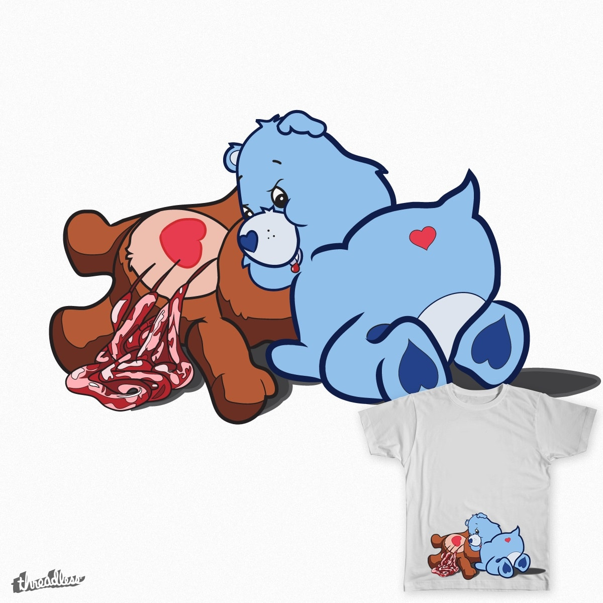 Grisly Grumpy by Graphicali on Threadless
