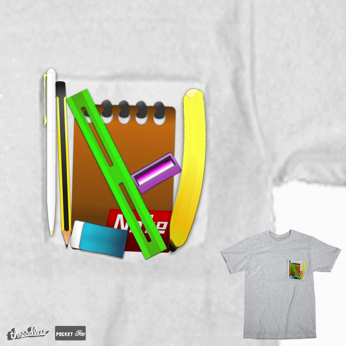 Poket : Equipment pocket by rezminezman on Threadless