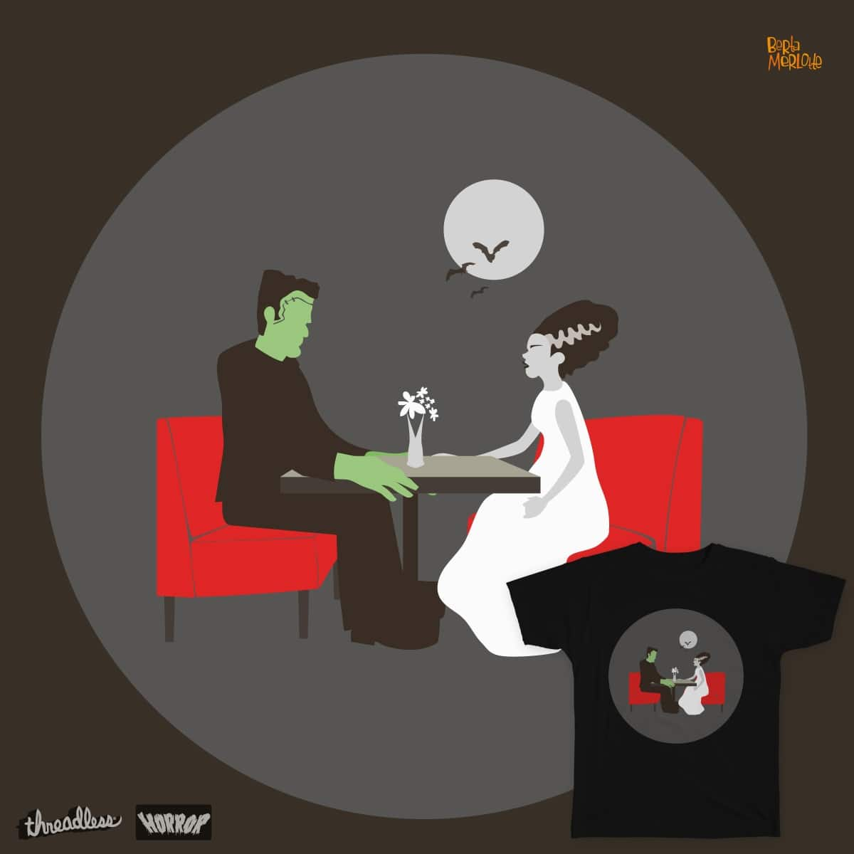 The Horror of Love by BertaMerlotte on Threadless