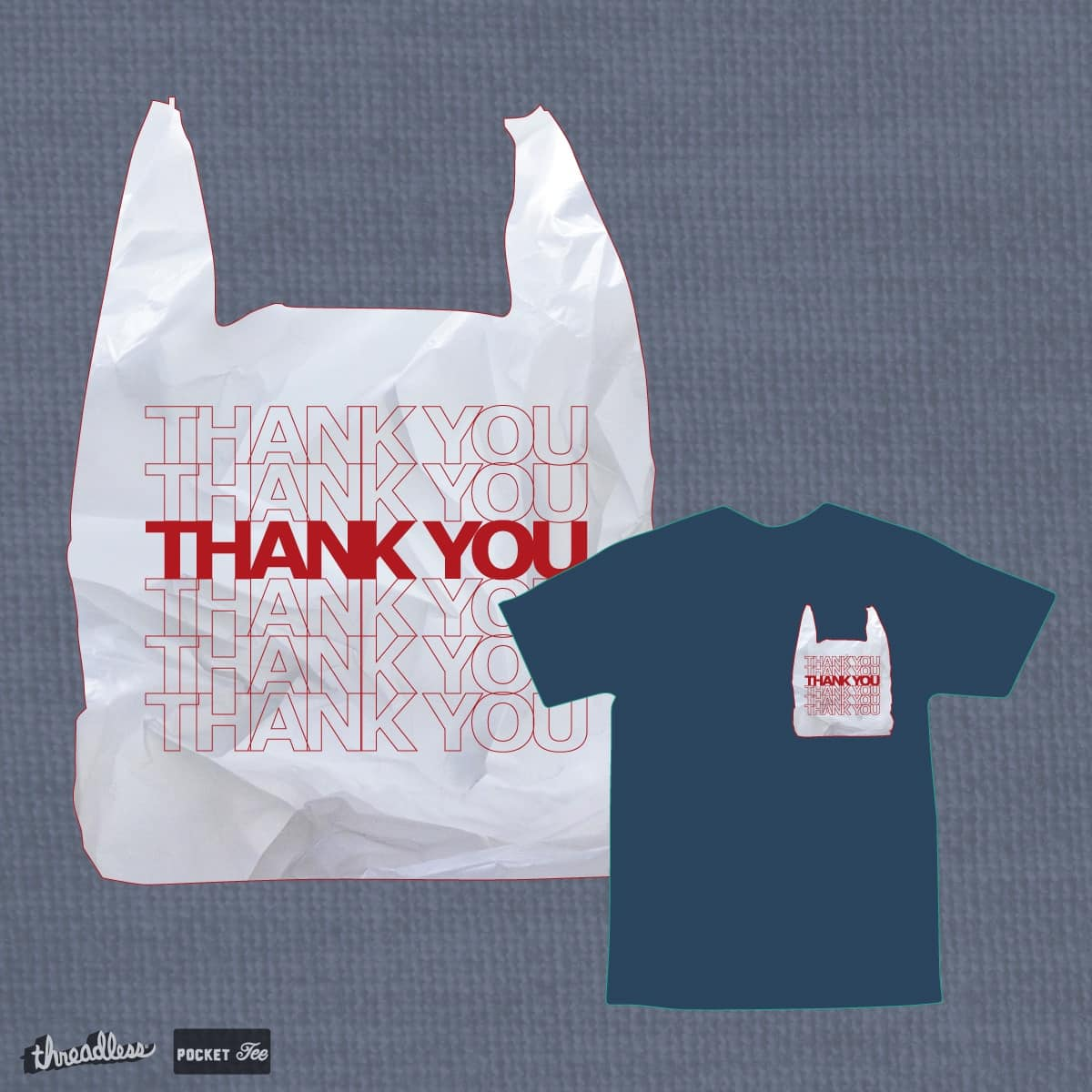 THANKS by PhilandKonyin on Threadless