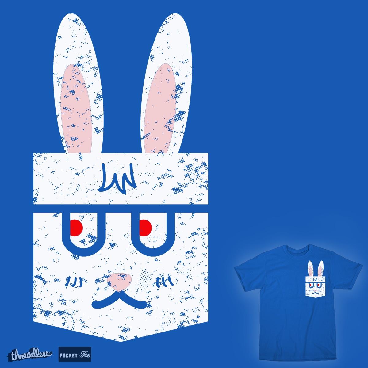 Pocket rabbit by k-mano on Threadless