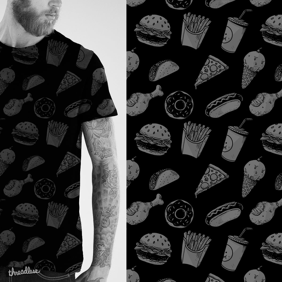 Yummy Patterns by alexmdc on Threadless
