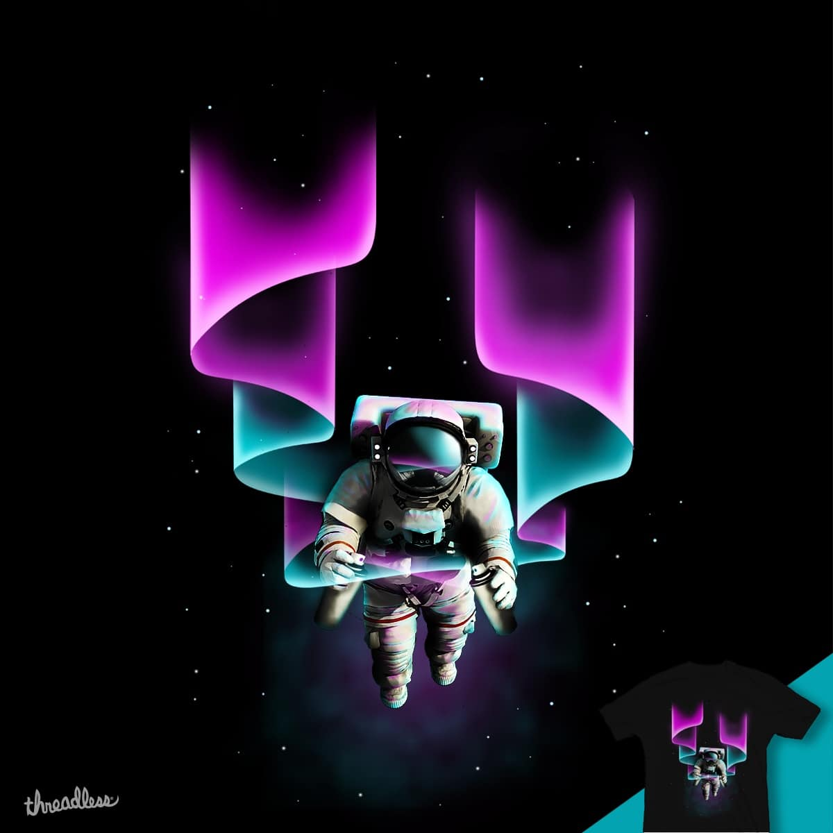 Painting space by wimadeputra on Threadless