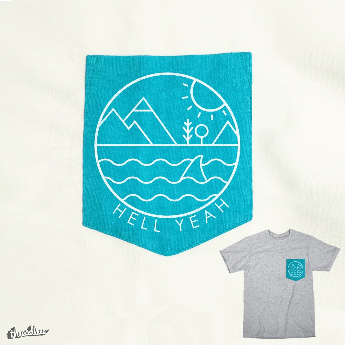 Hell Yeah by Farnell on Threadless
