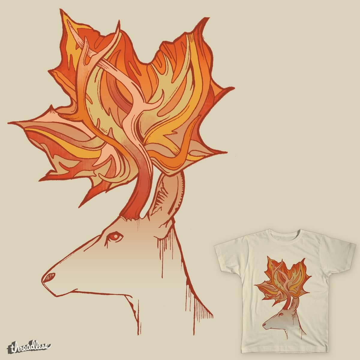 Fall is here, Dear by Ivy_O on Threadless