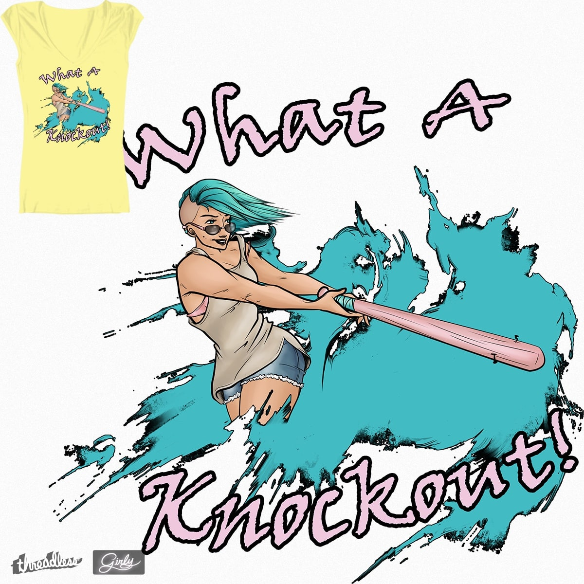 Knockout! by JillianWahl on Threadless