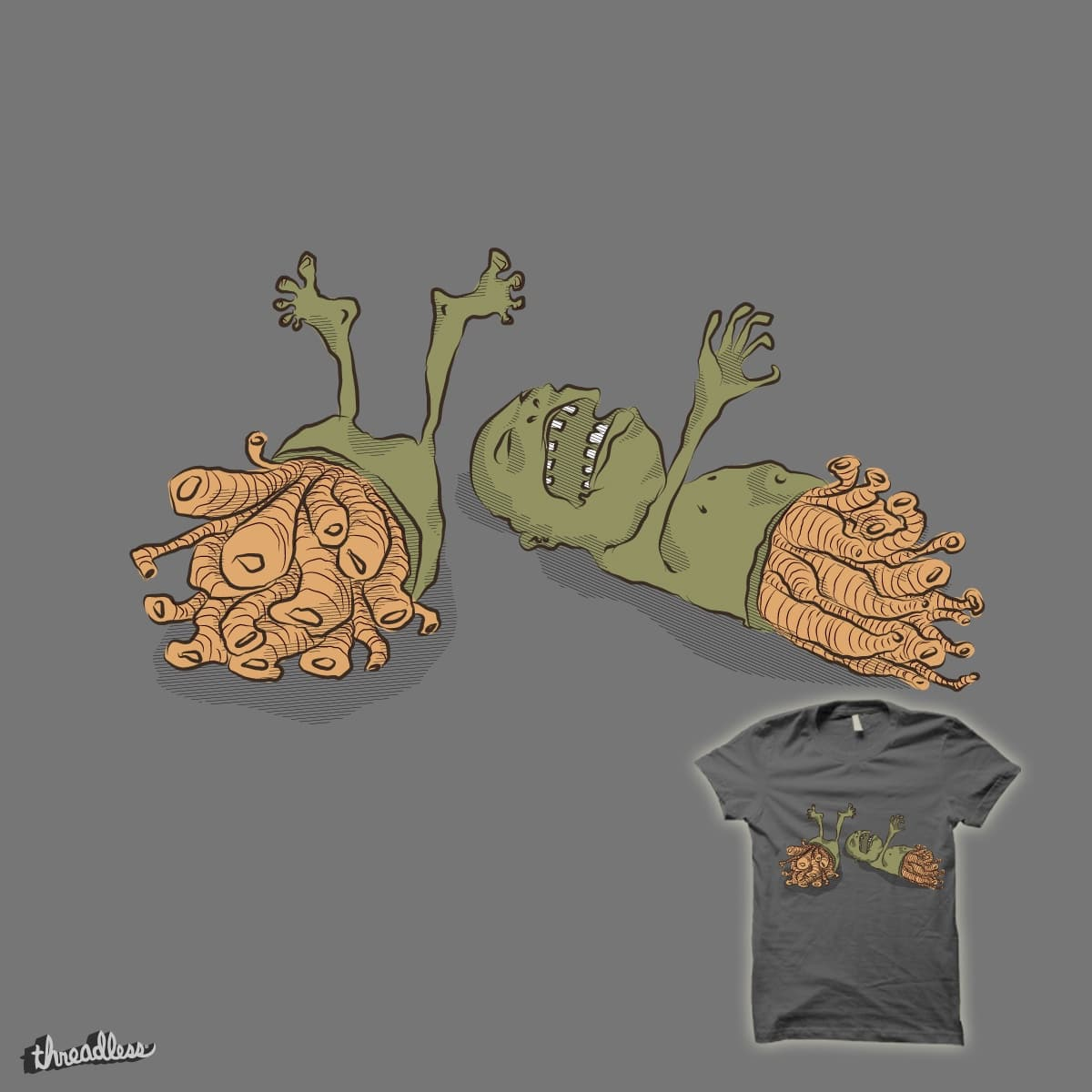 Better half by nathaliomorales on Threadless