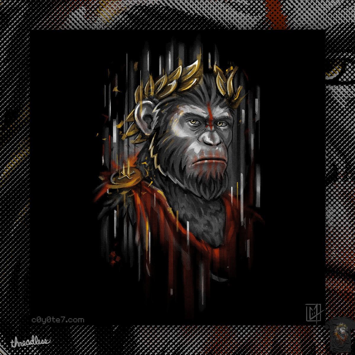 Caesar Ape by c0y0te7 on Threadless