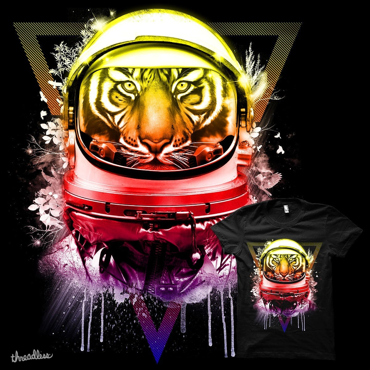 Astro Tiger by Agimat ni Ingkong on Threadless
