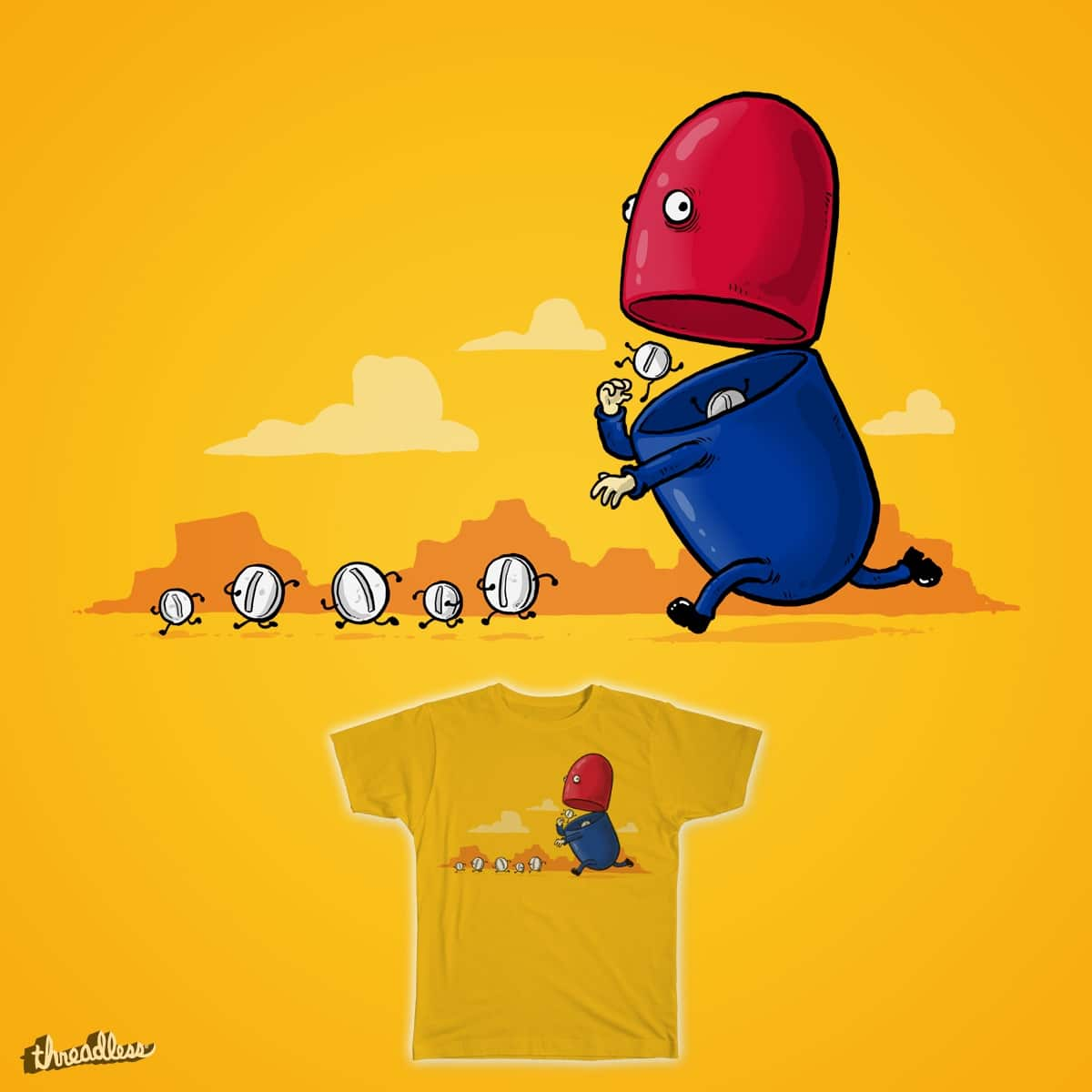 How Capsules Are Made by salihgonenli on Threadless