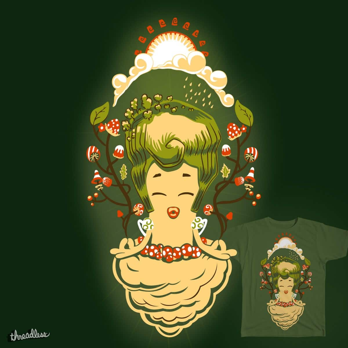 Forest song by Hitryi-Pryanik on Threadless