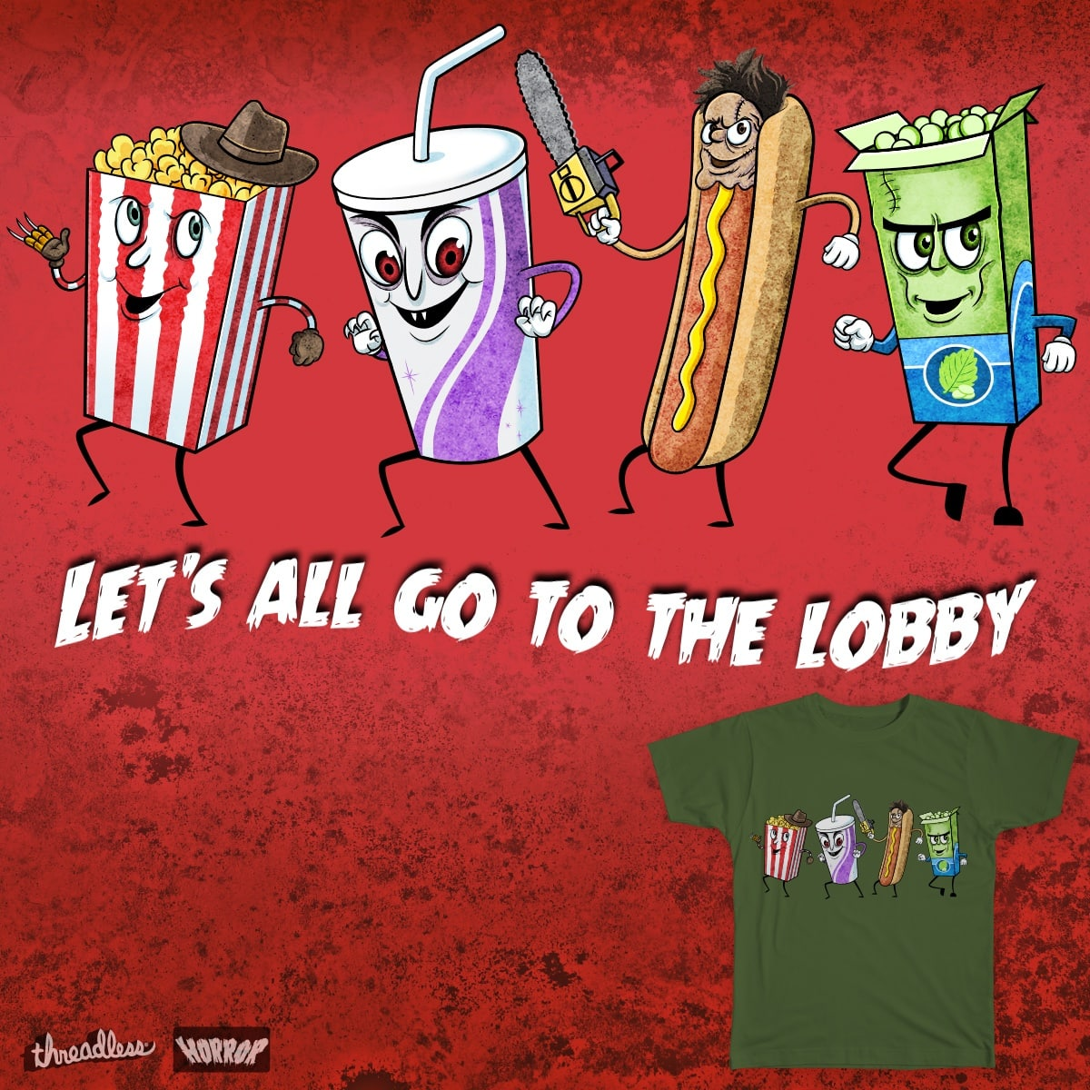 Let S Go To The Movies: Score Let's All Go To The Lobby! By Sandhop On Threadless