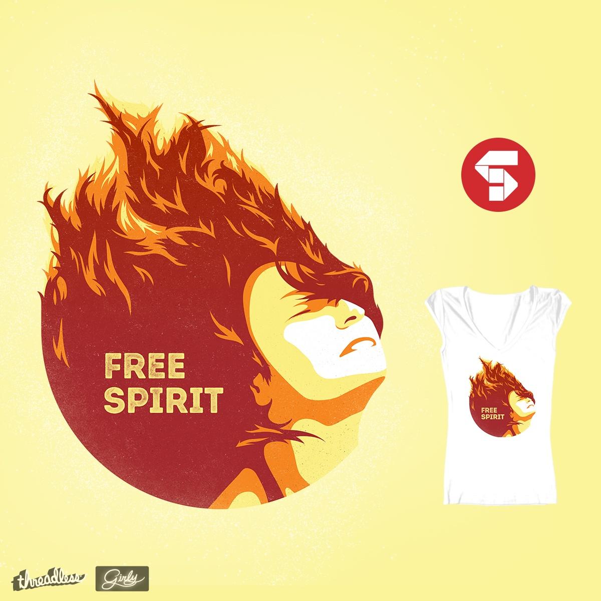 Free Spirit by thomassoto7 on Threadless