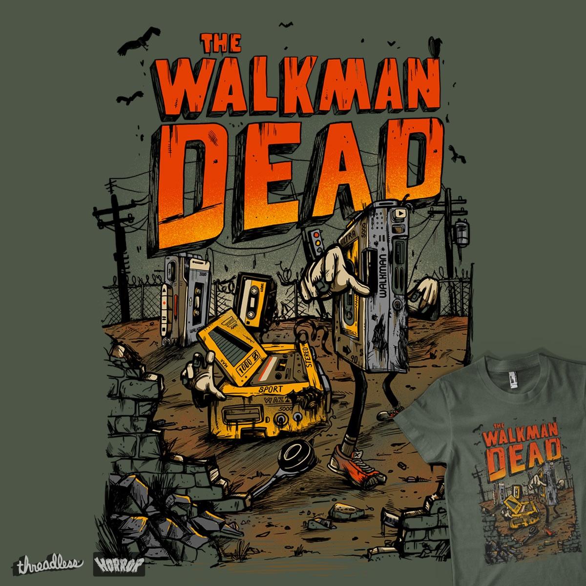 The walkman Dead by MadKobra on Threadless