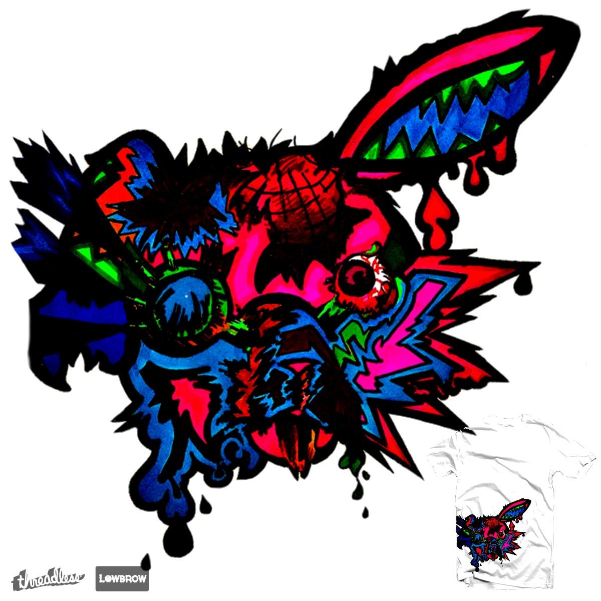 Rabbit.O.Y.G.B.I.V by Jaguar6Styx on Threadless
